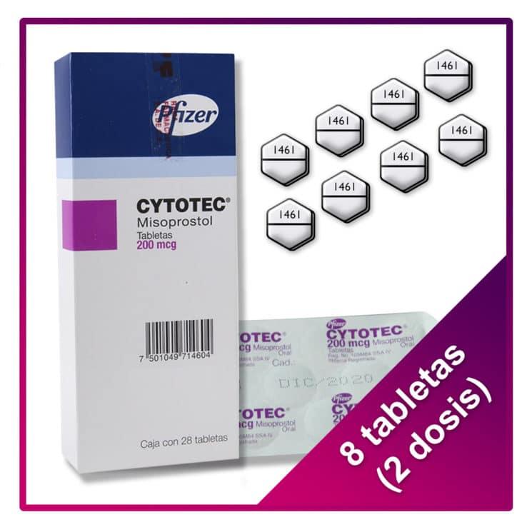 cytotec 2 dosis 8 pastillas